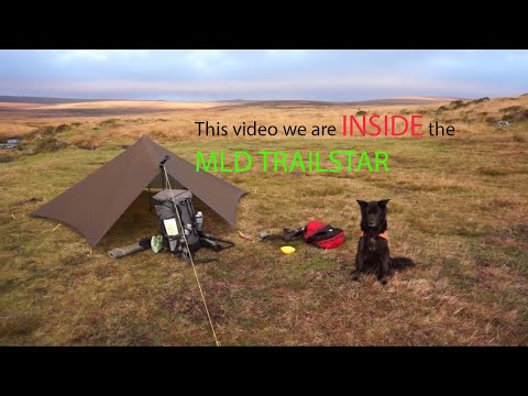 Wild camping on Dartmoor 6.11.12 in Trailstar