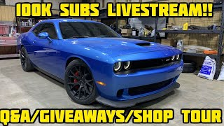 100K Subs Livesteam! Q&A/Giveaways/Shop Tour!