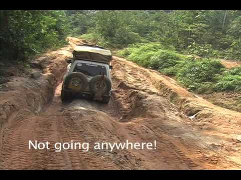 Bad Roads in Africa The Worst Road in Africa