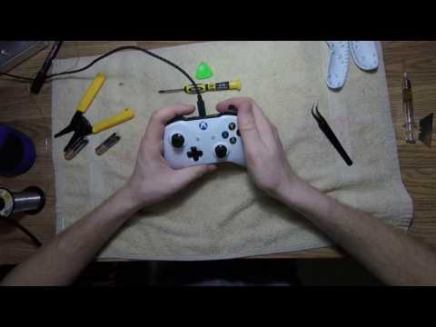 How To Install Rapid Fire Mod Chip In Xbox One S Controller - Gen 3
