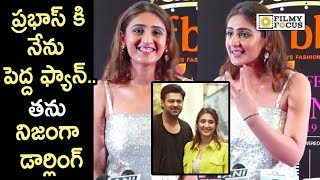 Singer Dhvani Bhanushali Super Words about Meeting with Prabhas in Hyderabad || Saaho, Vasthe Song