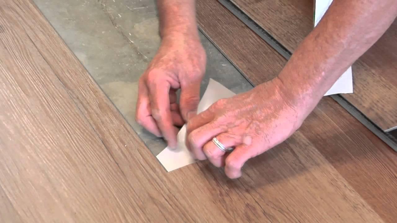 Replacing a tile floor