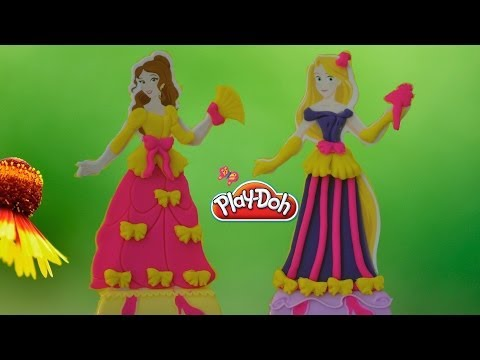 Play Doh Disney Princess Design-A-Dress Boutique Set By TheChidhoodlife