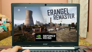 Pubg PC Erangel V2 🔥 Gameplay with FPS & Temperature on Acer Aspire 5 (i5 8250u) (MX150)