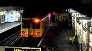 Merseyrail 508125 Departing Disused James Street Platform 2