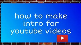 How to Make Youtube Intros on Android Phone | Android App Review | HOW TO MAKE A CHILL 3D INTRO FRO
