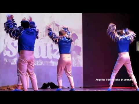 Juanmi Vilches y su Afro Flow show Salsaluz 2016