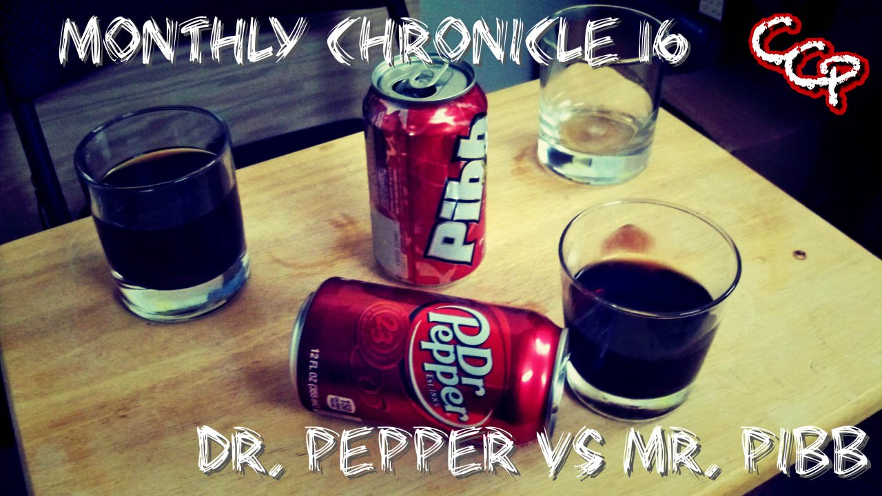 dr Thunder vs dr Pepper dr Pepper vs mr Pibb
