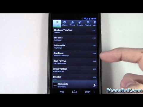 PlayerPro Music Player App Review (for Android)