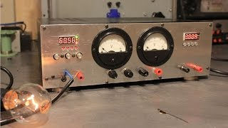 Trailer: Building a Lab Power Supply from Audio Equipment +  Buck / Boost Converters