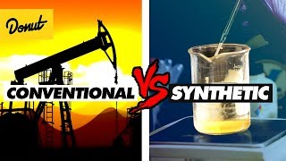 Conventional Vs Synthetic Motor Oil How It Works Science Garage