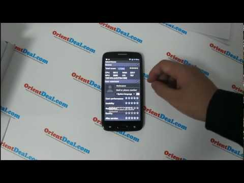 Samsung Galaxy S4 Clone - Orient N9500 - Antutu Testing Hands On reviews