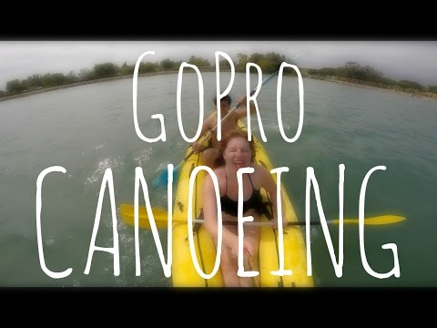 GOPRO CANOEING AND SWIMMING | FRANCE (Daily Travel Vlog 66,