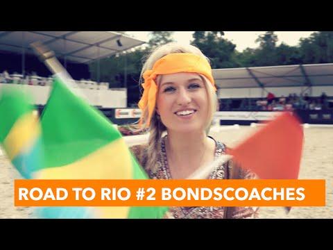 Road to Rio #2 - De Bondscoaches   PaardenpraatTV