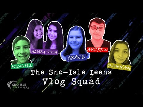 Vlog Squad: Weekly Book Review Vlogs