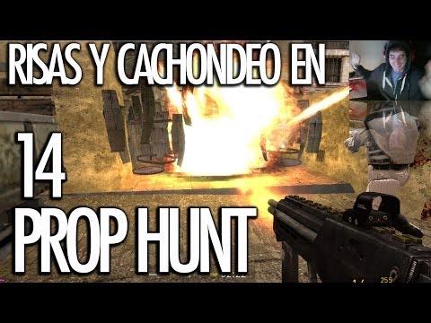 PROP HUNT 14: Risas y Cachondeo! VEGETTA EL DESTRUCTOR!!! - [LuzuGames]