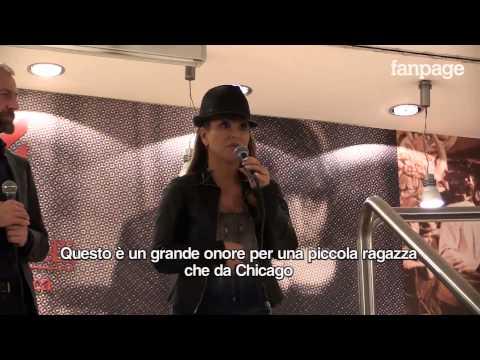 Anastacia in lacrime a Milano: