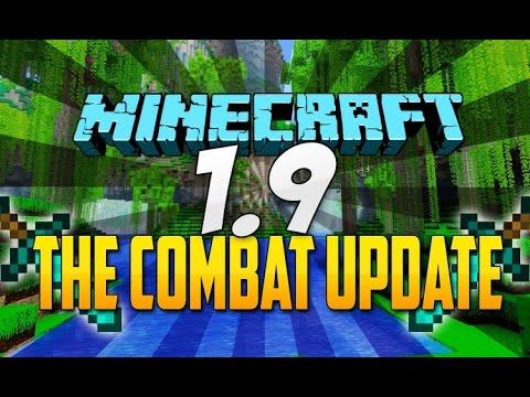 Minecraft 1.9 Update - Left Arms + New Blocks