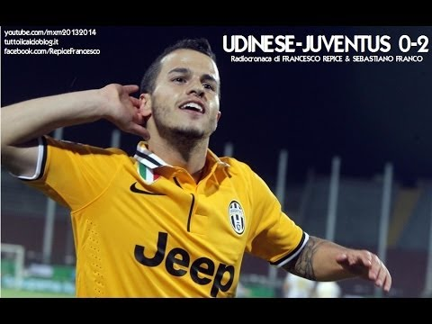 UDINESE-JUVENTUS 0-2 - Radiocronaca di Francesco Repice & Sebastiano Franco (14/4/2014) Radio Rai
