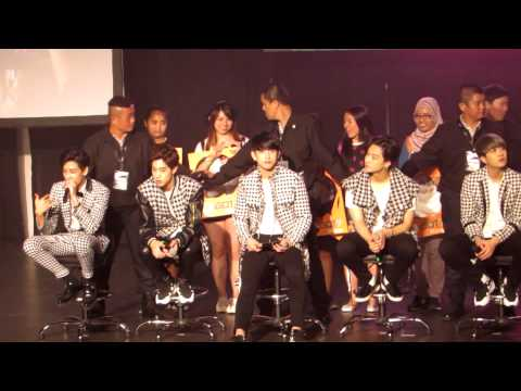 [Fancam]150321 GOT7 1st Fan Meeting Malaysia - Take a Photo part1