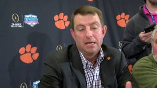 TigerNet.com - Dabo Swinney Spurrier impression