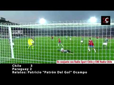 Chile 3-2 Paraguay | Amistoso 2015 | Somos Chile Radio