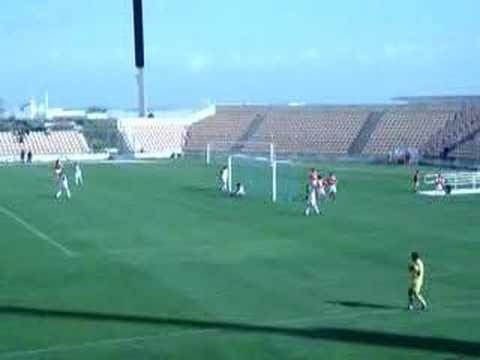 Alverca 0-6 Benfica (Juniores) 24.02.2007 Yu Dabao faz o segundo golo do jogo.
