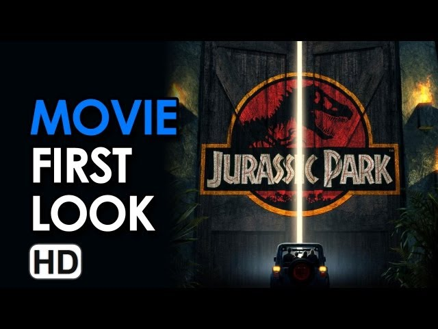 Jurassic Park 3D Motion Poster Unveiled (2013) - Steven Spielberg Movie HD