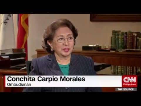 EXCLUSIVE: 'The Source' speaks to Ombudsman Conchita Carpio Morales