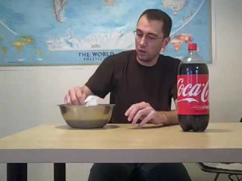 AMAZING experiment with Coca-Cola and Plastic Utensils