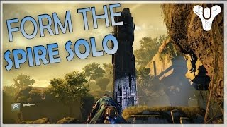 Destiny - How to Form The Spire Solo in VoG (Exploit)