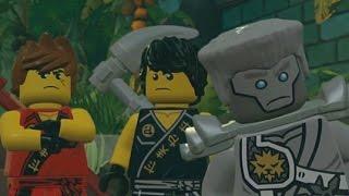 LEGO Ninjago: Shadow of Ronin Walkthrough Part 1 - Chen's Island & Chen's Dungeon (3DS/Vita)