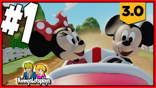 Disney Infinity 3.0 - TOY BOX Speedway Part 1 Darth Vader Grand Prix!
