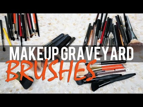 MAKEUP BRUSHES COLLECTION | Makeup Graveyard