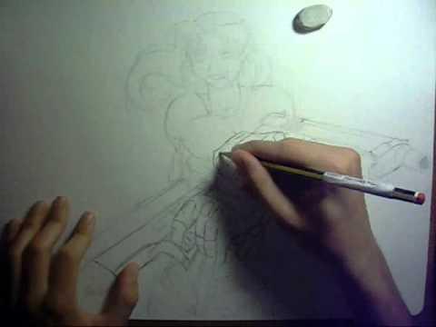 Disegnare Revy -Black lagoon- + Sigla cartone animato