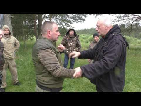 Самооборона Защита от Захвата за руку и  удара рукой