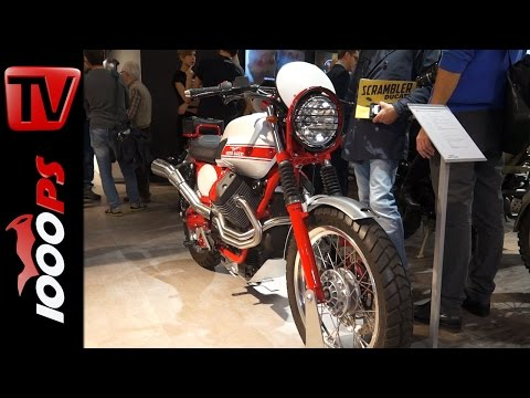 Moto Guzzi V7 II Due 2015   Details + Special Editions