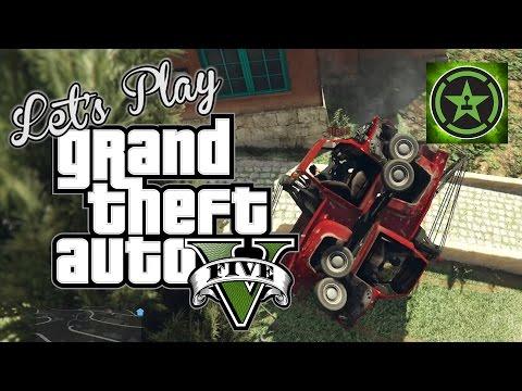 Let's Play - GTA V - Tow Truckin