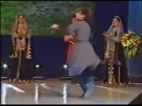 Kafkas Halk Dansları Lezginka Chechen Kavkaz
