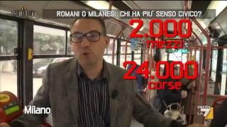 Romani o milanesi: chi ha più senso civico?