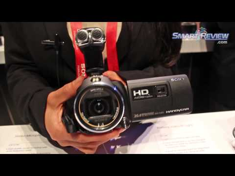 CES 2013: Sony Handycam HDR-PJ650V Projector Camcorder   PJ650   Balanced Optical Steadyshot