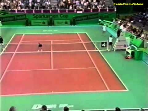 Anastasia Myskina vs Justine Henin 2003 Leipzig Highlights