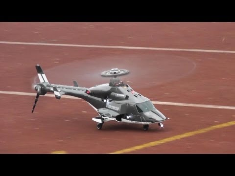 RC Airwolf -- Walkera 450BD5 Fast Flight and loops