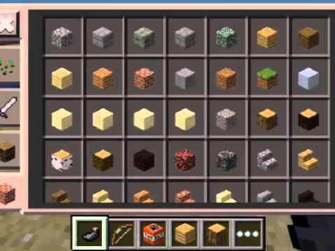 Minecraft PE - Creative Inventory Glitches!!!