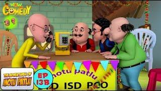 Cross Connection - Motu Patlu in Hindi - 3D Animated cartoon series for kids - As on Nickelodeon