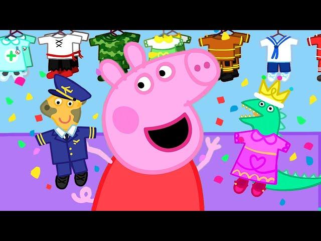 Peppa Pig Full Episodes   The Doll Hospital   Cartoons for Children thumbnail