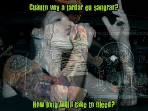 Walls of Jericho - No saving me subtitulos and lyrics (esp-ing) HD