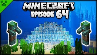 BEGINNING THE AQUATIC SETTLEMENT! | Python's World (Minecraft Survival Let's Play) | Episode 64