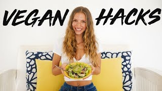 7 VEGAN HACKS TO MAKE YOUR LIFE EASY! | YOU NEED TO KNOW THESE! Beginner Vegan Tips