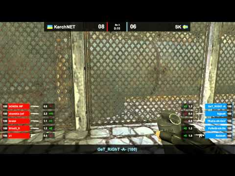 KerchNET vs. SK map 2 inferno